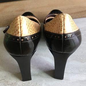 Via Spiga Shoes - Via Spiga   Brown Mary Jane Pumps, 9